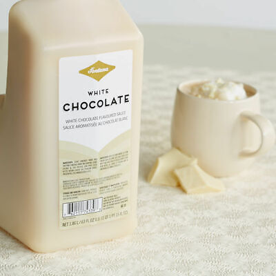 Fontana by Starbucks White Chocolate Sauce with Pump! Best before