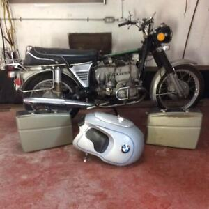 Original Heinrich BMW R-Series Tanks / Motorcycles