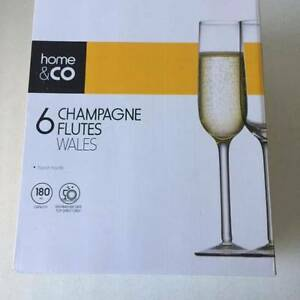Champagen Glasses - NEW IN BOX NEVER USED Moonee Ponds Moonee Valley Preview
