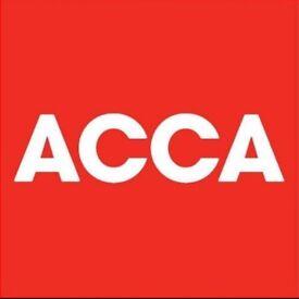 ACCA BPP and Kaplan books