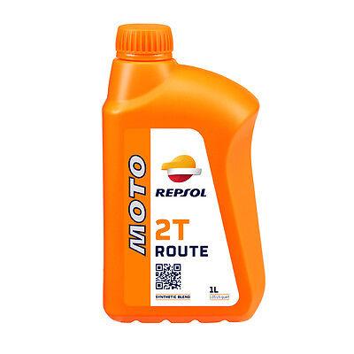 Aceite Repsol Moto Route 2T | 1 Litro | Lubricante | ¡Envío...