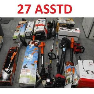 27 ASSTD POWER TOOLS LOT - 119873227 - EDGER TRIMMER BLOWER LAWN CARE GRASS MAINTENANCE SEE COMMENTS