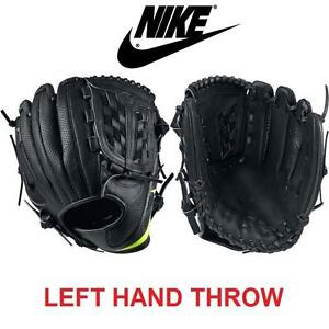 "NEW NIKE BASEBALL GLOVE ADULT 12 LH - 108982211 - CATCH RIGHT/THROW LEFT - 12"" FIELDING GLOVE - LEATHER"