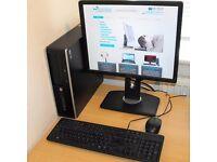 Core i3 Complete Windows 10 PC HP Compaq 8200 Elite Small Form Factor