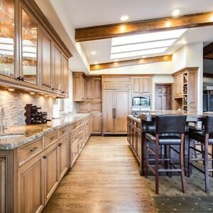 Custom Kitchen Cabinets - TDM