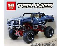 Lepin technic 41999 4x4 crawler not Lego limited edition new and sealed