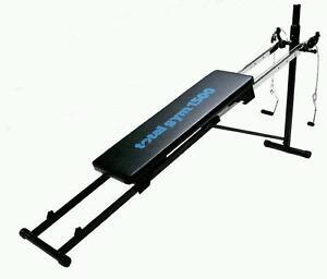 Total Gym 1500 + Wing Attachment (women/men; beginner/advanced)
