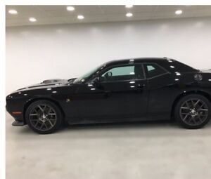 2016 Dodge Challenger Scat Pak Shaker Black Coupe (2 door)