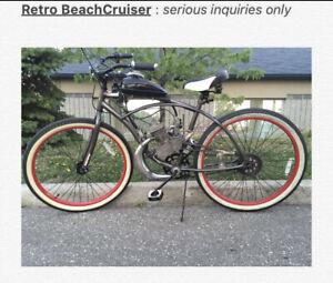 Motorized Cruiser Bicycle