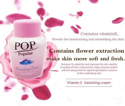 POP POPULAR Vanishing Cream Vitamin E Soft Skin Lightening Anti-Aging Cream 70g. ()