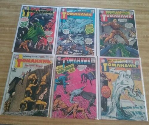TOMAHAWK & SON OF #83 to #137 DC 1950-72  11 COMICS EARLY NEAL ADAMS - RANGERS
