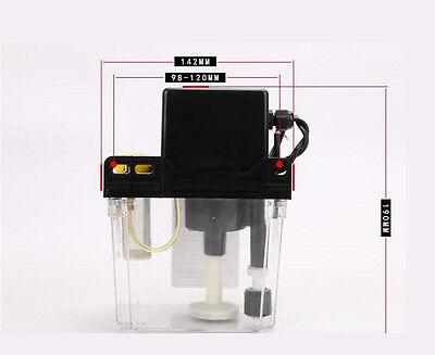 1.8l 110v Dual Digital Display Automatic Electric Lubrication Oil Pump Cnc Oiler