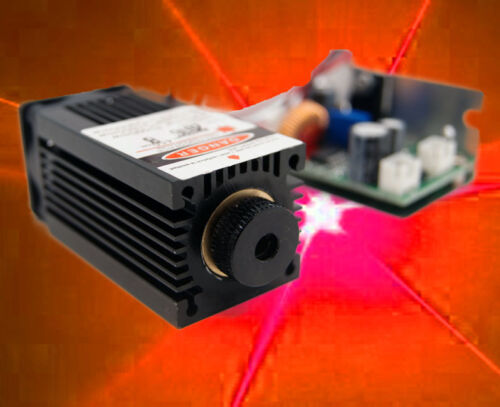 Focusable 500W 638nm Orange-Red Buner laser Module/Analouge Modualtion/Basic Cut
