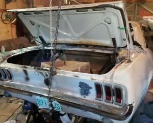 Mustang Muscle Car Project