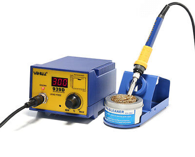 Yihua 939d Portable Thermostat Soldering Station Electric Soldering Iron 220v