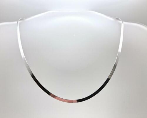 Herringbone Necklace Sterling Silver 925 Italian Chain 16,18,20 Inch Unisex Mens