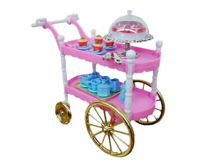 For Barbie Furniture Cake Car Dining Car Kitchen Furniture and Accessories