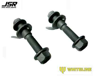 05 14 Mustang all Whiteline Adjustable Camber Bolts works with Caster Plates