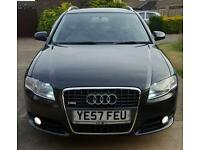 Audi A4 Avant 2.7 Tdi Sline very low miles and very high spec.