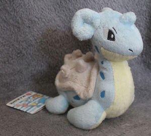 "I Love Marine ""Lapras"" Pokemon Plush - Pastel and Adorable!"