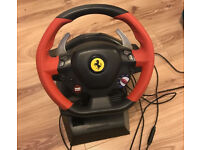 Thrustmaster Ferrari 458 Spider Wheel and Pedals Set for Xbox One
