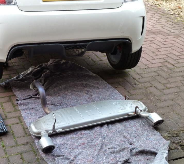 Fiat Abarth 500 exhaust. | in Livingston, West Lothian | Gumtree