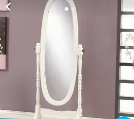 Standing mirror and dressing table mirror