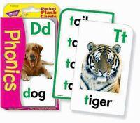 Trend Kids Phonics Children's Educational Pocket Flash Cards Game - T23008 - trend enterprises - ebay.co.uk