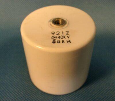 Murata 40kv 920pf Ceramic Door Knob Hv Capacitor Tdk Tesla