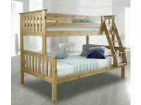 Pine Triple Sleeper Bunk Bed