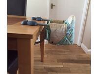 Chicco highchair / hook on seat