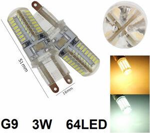 Lampadina-LED-G9-lampada-luce-calda-o-fredda-Bianco-caldo-freddo-3W-g-9-220V-64