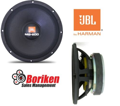 """JBL 10MG600 10"""" Mid-Bass Woofer 600 Watts 4 Ohms"""