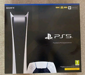 NEW SEALED SONY PS5 DIGITAL EDITION! PLAYSTATION 5 IN HAND NEW