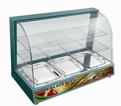 Commercial Warmer Heated Hot Food Cabinet Display Just £249.99