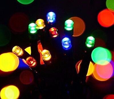 USB LED 8 Function Christmas/Holiday Lights Multi Color 100 lights 10M