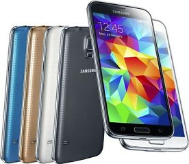 SAMSUNG GALAXY S5 SM-G900F black ANDROID SMARTPHONE TOUCHSCREEN HANDY LTE 4G