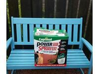 Garden fence and decking power spray