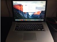 "Apple MacBook Pro 15"" Late 2008 2.4GHz 4GB RAM 250GB HDD - Office and Adobe CS5"