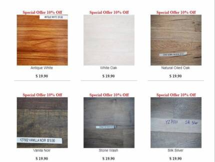 $19.90 / m2 Laminate Flooring 12.3mm | Special Clearance