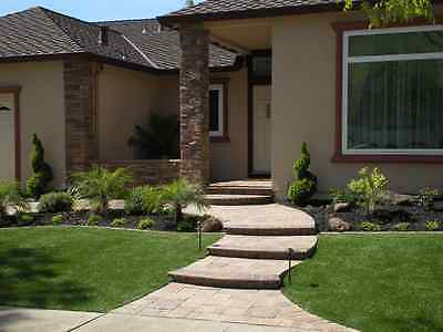 Bermuda Synthetic Landscape Grass, Artificial Turf Lawn 15 x 7 (105 sf) roll