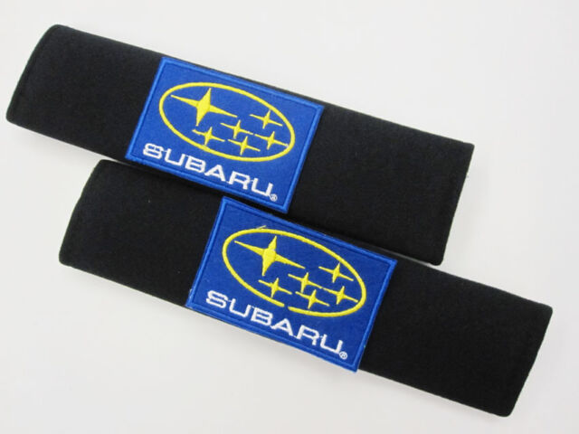 2 pcs Car Comfortable Seat belt Seatbelt Shoulder Pads Cover SUBARU WRX STI B