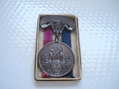 EB ~ 17TH WEST VIRGINIA INFANTRY MEDAL IN ORIGINAL BOX