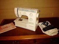 Bernette modern sewing machine; great condition!