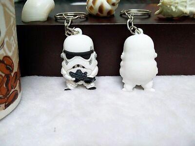 *UK* Star Wars Stormtrooper Fob Key ring Key chain Pendant Charm