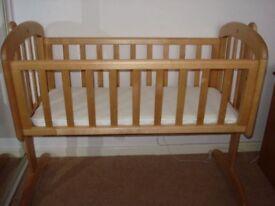 Perfect John Lewis Baby Cot