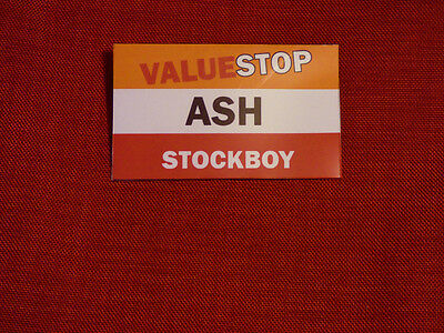ASH vs EVIL DEAD fancy dress BADGE name and job can be personalised.Valuestop