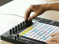 Ableton push one dust cover push intro