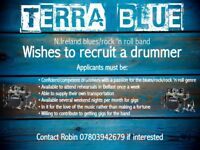 Drummer wanted for blues/rock 'n roll band