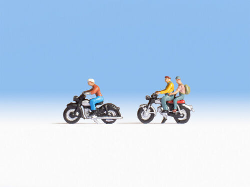 Noch 45904 Tt Gauge, Motorcycle Riders # New Original Packaging ##